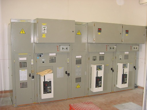 Distribution Switchboard with Medium Voltage Electrical Substation