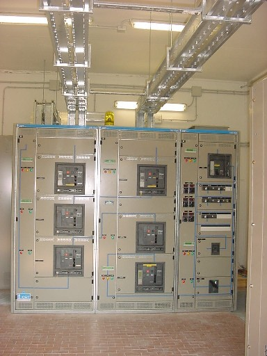 Low Voltage Main Distribution Switchboard with Network Switching Unit